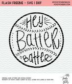 Batter batter