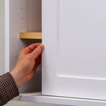 Shaker cabinet doors with pocket holes 7