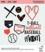 Bases balls bats
