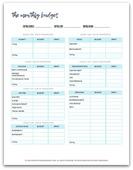 Stm budget printable 450