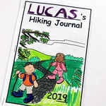 Front hiking journal