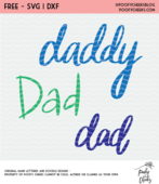 Dad cut files