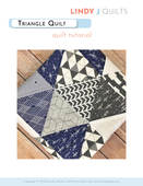 How to sew a triangle quilt