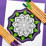 Free printable mandala coloring pages for adults 10