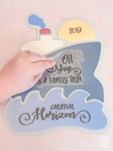 Diy cruise door sign with your cricut maker 16