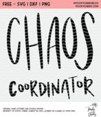 Chaos coordinator cut file
