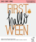 Babys first halloween