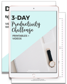 Productivity challenge preview ipad