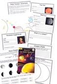 Solar system free unit study portrait