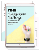 Time management challenge preview ipad