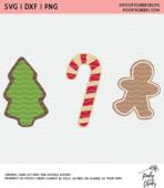 Christmas cookies cut file