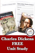 Charles dickens free unit study pin temporary
