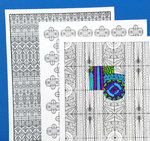 Pattern coloring pages 1