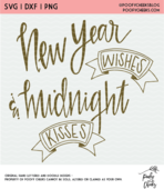 Free new year cut file