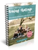 Reading challenge cover