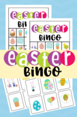 Easter bingo 2 pinterest