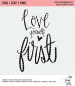 Love yourself cut file