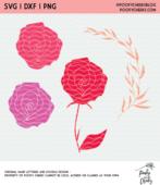 Rose cut files