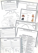 Steve irwin free unit study notebooking pages portrait