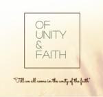 Of unity and faith