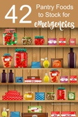 42 pantry foods for emergencies   pinterest 3