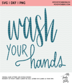 Wash you hands cut file