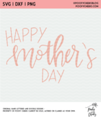 Happy mothers day digital