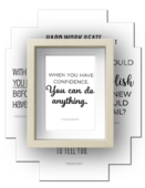 Confidence quotes frame s1