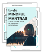 Mindfulness mantras preview