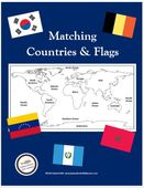 Cover matching countries flags